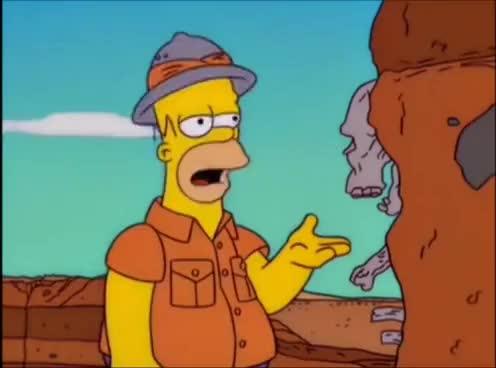 Watch Simpsons si está tratando de impresionarme va muy mal GIF on Gfycat. Discover more related GIFs on Gfycat