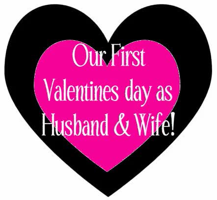 Watch and share Husband And Wife First Valentines GIFs on Gfycat