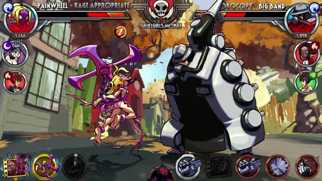 Watch and share Skullgirls GIFs and Painwheel GIFs by Skullgirls Mobile on Gfycat