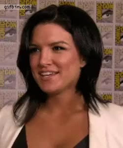 Watch gina carano at comiccon GIF on Gfycat. Discover more gina carano GIFs on Gfycat
