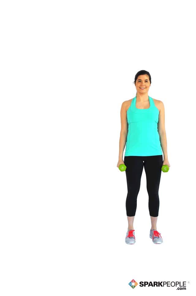 Watch Lateral Lunges with Dumbbell Curls Exercise Demonstration GIF on Gfycat. Discover more related GIFs on Gfycat