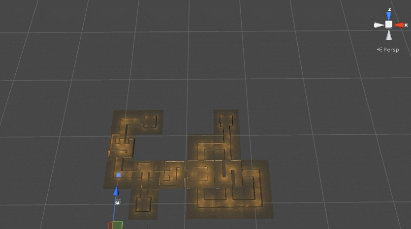 gamedev, indiegames, proceduralgeneration, Procedural levels - section placement GIFs