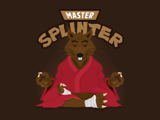 Watch and share TMNT Splinter GIFs on Gfycat