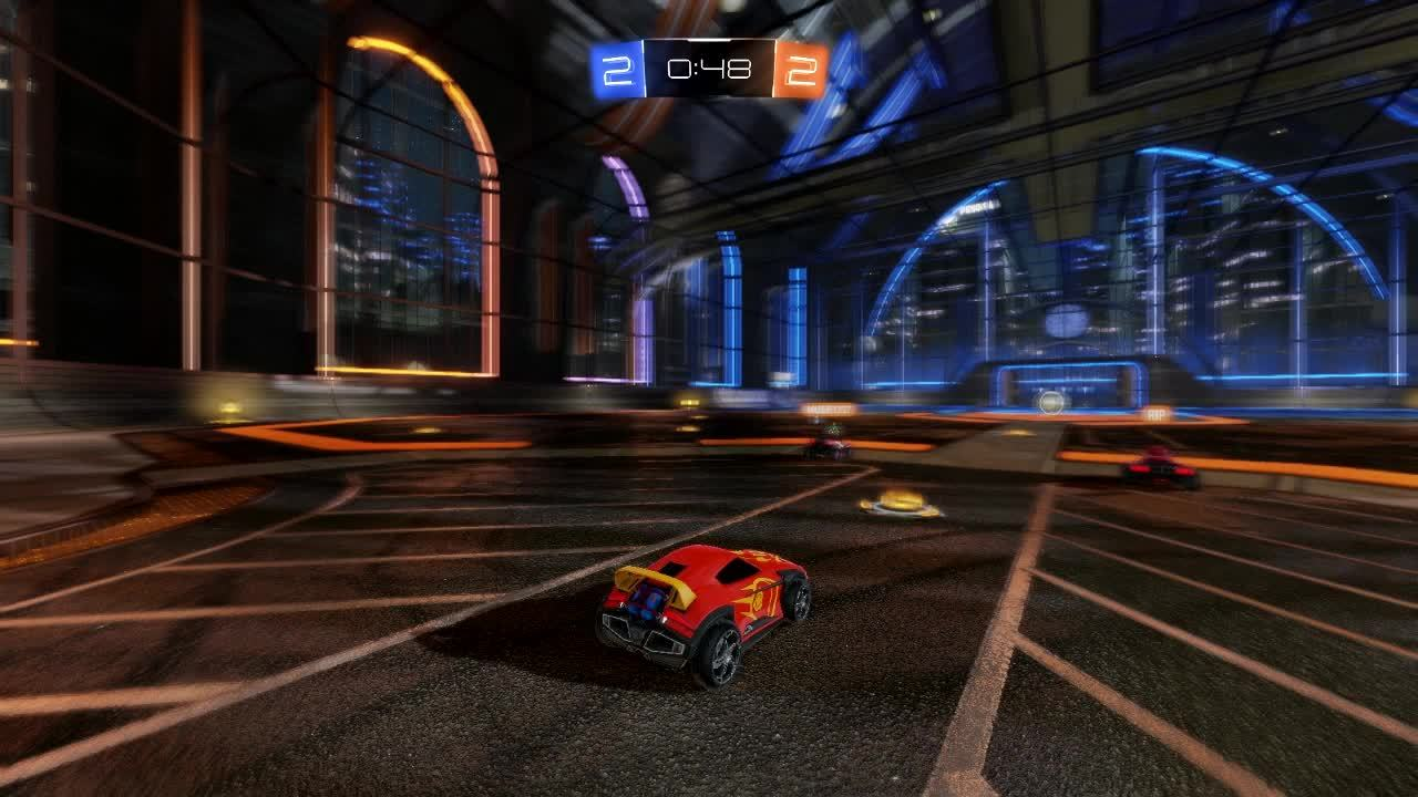 rocketleague, When your team abandons you.. GIFs