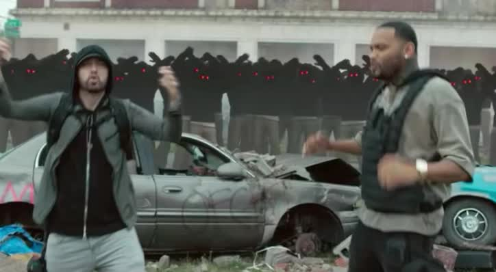 amazing, awesome, bff, dance, dancing, eminem, excited, ft, joyner, lucas, lucky, marshall mathers, perfect, stop, surprised, wait, what, woohoo, yoohoo, you, Eminem - Lucky You ft Joyner Lucas GIFs