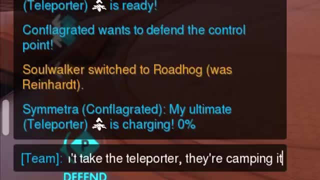 Watch and share Teleporter GIFs and Overwatch GIFs by conflagrated on Gfycat