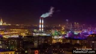 Watch and share Моя Москва My Moscow   Timelapse GIFs on Gfycat