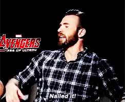 Watch and share Chris Evans GIFs and Nailed It GIFs by Reactions on Gfycat