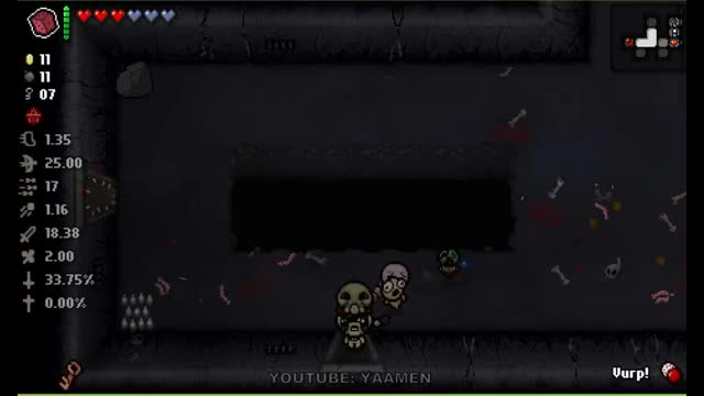 Watch and share Afterbirth+ - Acid Baby + Vurp + Polyphemus = Reusable Room Clearer GIFs by youtubeyaamen on Gfycat