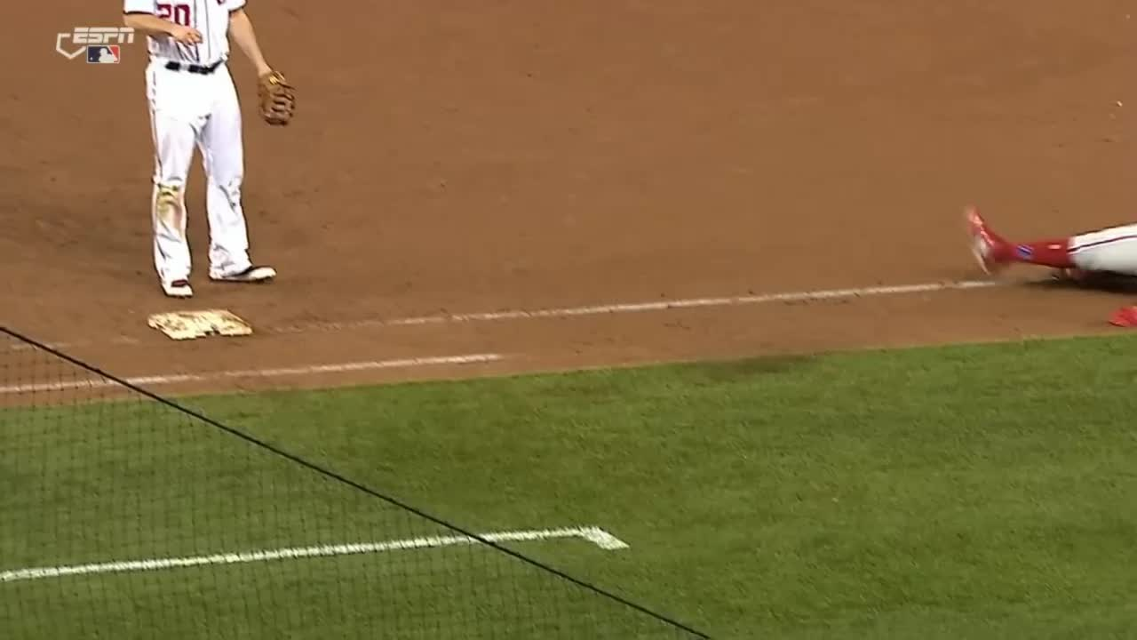 baseball, daniel murphy, murph wince GIFs