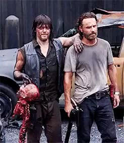 Watch and share A Thought Or More GIFs and Andrew Lincoln GIFs on Gfycat