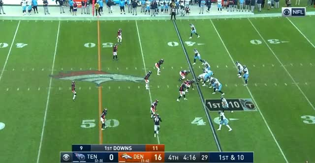 Watch and share Tennessee Titans GIFs and Denver Broncos GIFs by Matt Weston on Gfycat