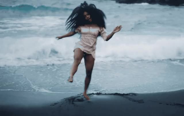 Watch this beach GIF by GIF Queen (@ioanna) on Gfycat. Discover more awesome, beach, celebrate, dance, dancing, dat, excited, garden, great, happy, it, like, party, perfect, say, sza, waves, woohoo, yay, yeah GIFs on Gfycat
