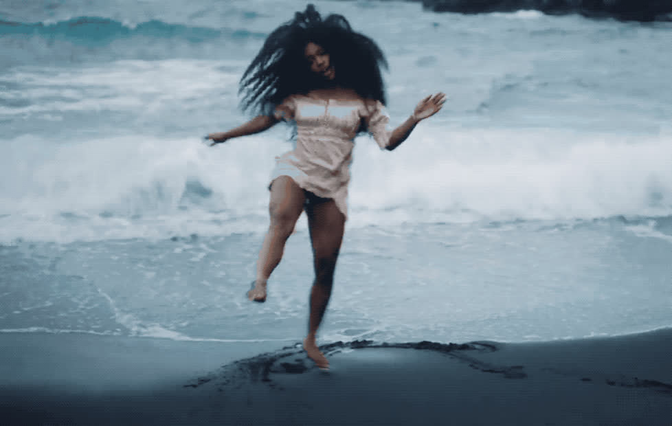 awesome, beach, celebrate, dance, dancing, dat, excited, garden, great, happy, it, like, party, perfect, say, sza, waves, woohoo, yay, yeah, Sza - Garden say it like dat GIFs