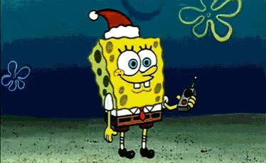 Watch this christmas GIF by The GIF Smith (@sannahparker) on Gfycat. Discover more christmas, christmas spirit, happy holidays, holidays, merry christmas, santa, santa claus, spongebob, welcome santa GIFs on Gfycat
