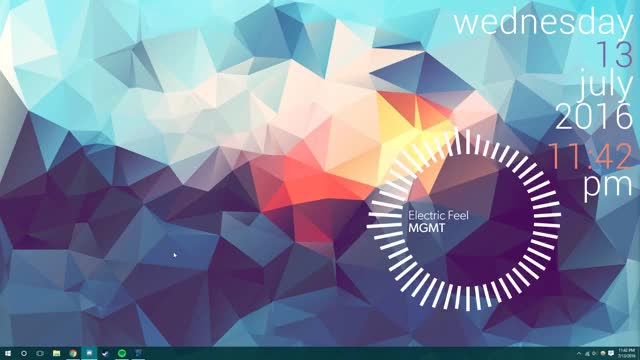 Watch and share Rainmeter GIFs by bedazzler on Gfycat