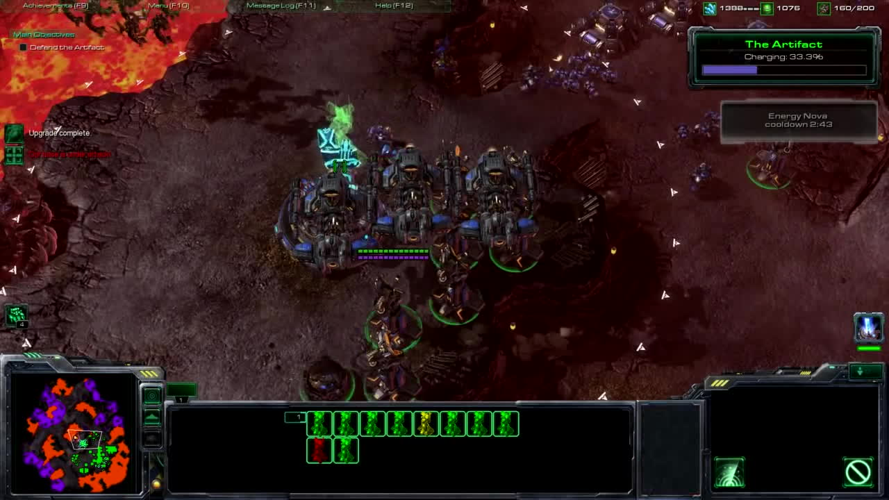 all, asksciencefiction, starcraft, Starcraft 2 Brutal All in (vs Air - Mind control) part 2 GIFs