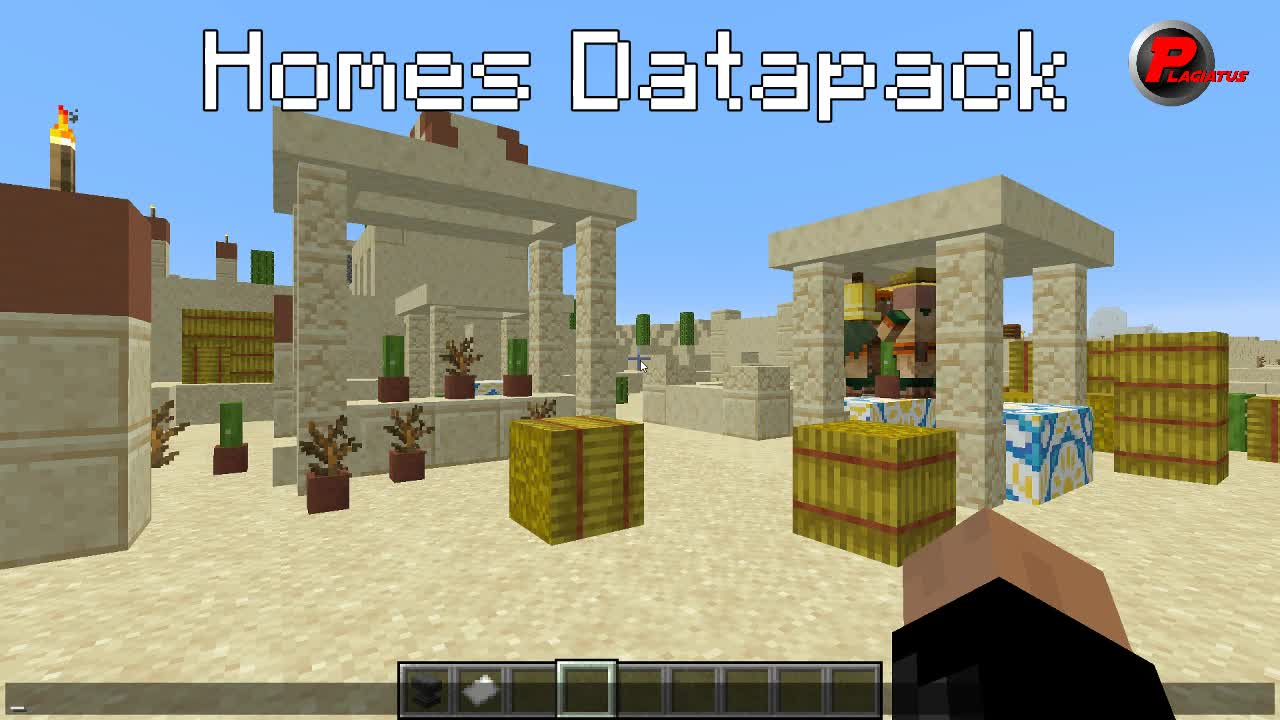 Datapack, Homes, Minecraft, Vanilla Homes Datapack GIFs