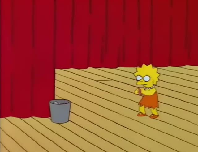 Watch and share The Simpsons GIFs and Lisa On Ice GIFs on Gfycat