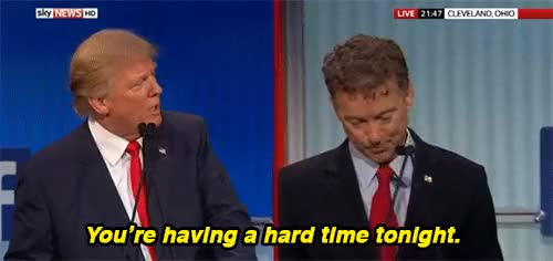 Watch and share Donald Trump GIFs and Rand Paul GIFs on Gfycat