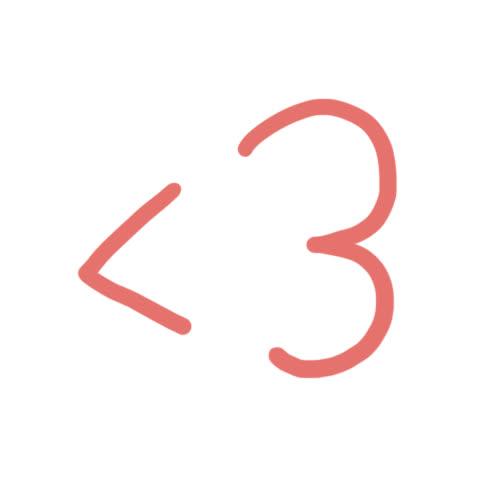 emoticon, heart, hearts, hoppip, i love you, love, Heart <3 GIFs