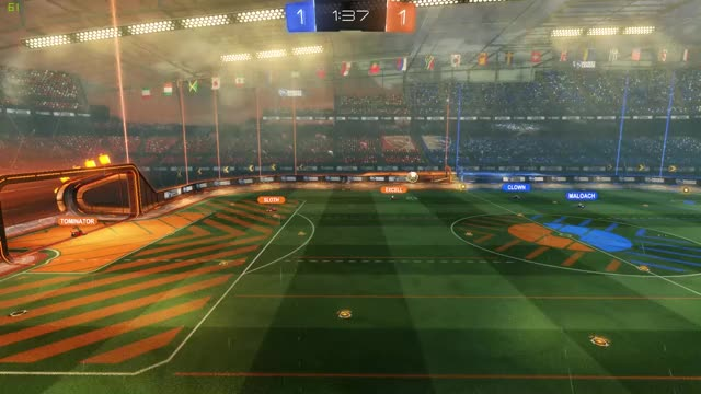 Watch Teamwork at it's finest GIF on Gfycat. Discover more badrocketleaguegoals, game, rocket league GIFs on Gfycat