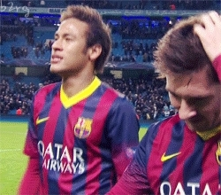 B2RG, Messi, Victor Valdes, neymar, Barca GIFs
