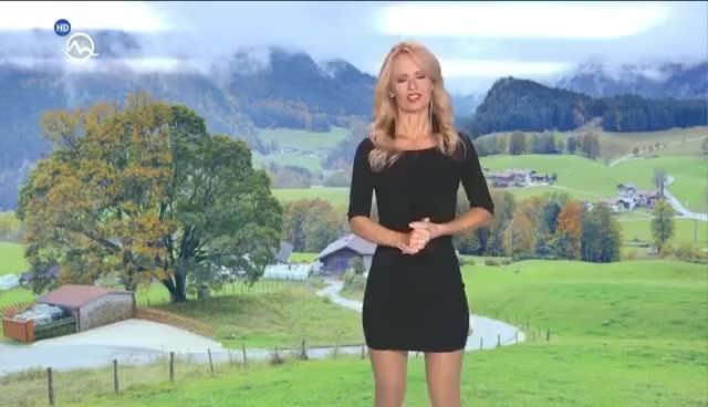 Watch and share Mirka Almásy Slovakia Weather Presenter GIFs on Gfycat