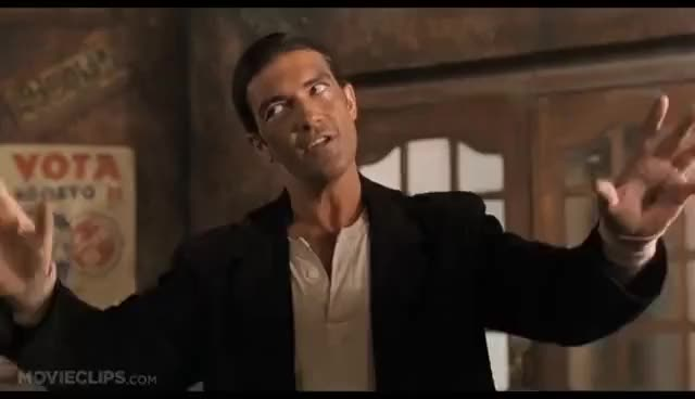 Watch and share Desperado (1/8) Movie CLIP - Is That Going On Right Now? (1995) HD GIFs on Gfycat