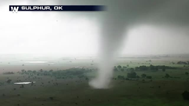 Watch and share Sulphur, OK Tornado Shot By A Drone R/weathergifs GIFs by solateor on Gfycat