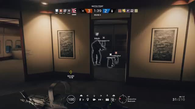 Watch and share Lucky GIFs and Siege GIFs by waterpolo122 on Gfycat