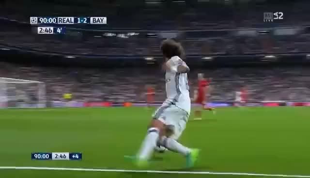 Watch and share Marcelo Vs Robben GIFs on Gfycat