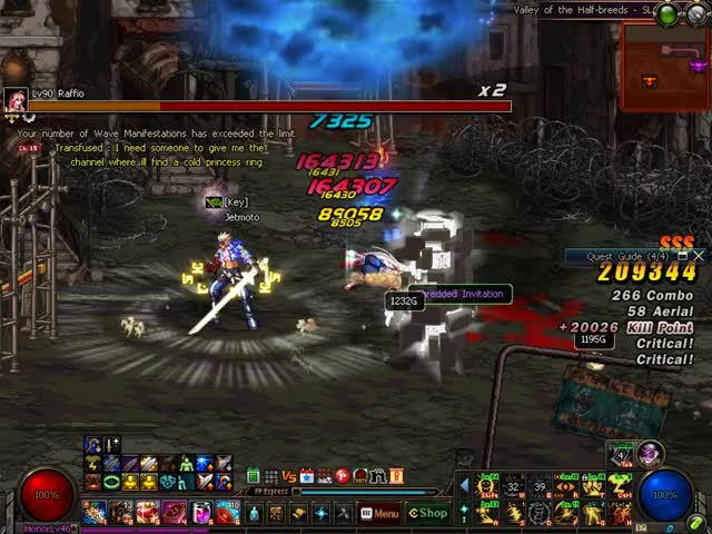 Watch DFO Hell Mode Vol.67 GIF by J.Moto (@ftcamtpwk) on Gfycat. Discover more 60fps, dfo, mmorpg GIFs on Gfycat