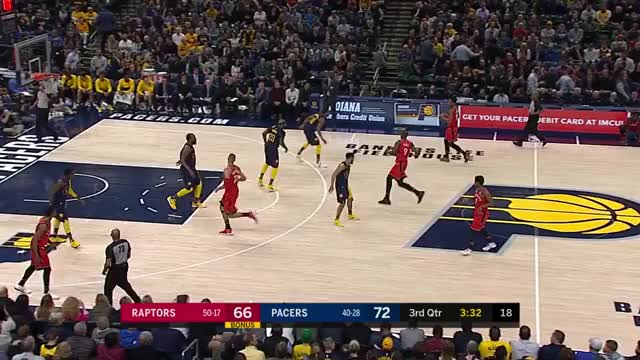 Watch and share Toronto Raptors GIFs and Indiana Pacers GIFs by louiszatzman on Gfycat