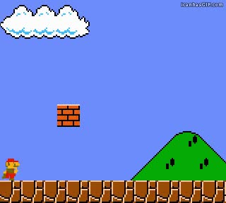 Watch and share Funny Mario Bros Mushroom GIFs on Gfycat