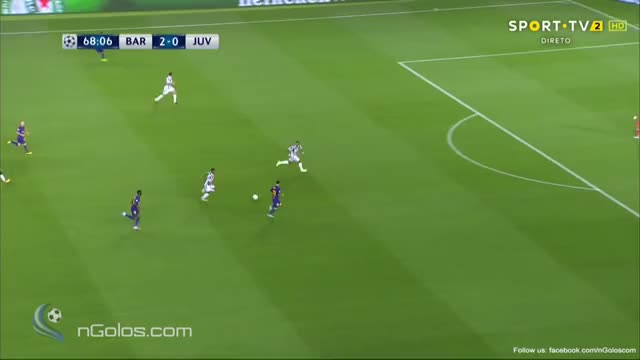 Watch and share (www.nGolos.com) Barcelona 3-0 Juventus - Messi 69' (Group D) GIFs on Gfycat
