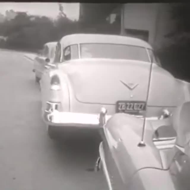 Watch This 1950s car had an extra wheel to help with parking GIF on Gfycat. Discover more tech, tech insider, ti GIFs on Gfycat