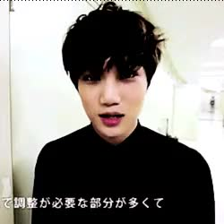 Watch Memory. GIF on Gfycat. Discover more exo, exo k, exok, jongin, jongin gifs, kai, my gifs, the lost planet, tlp, tlp in osaka, wowow, wowow tv GIFs on Gfycat