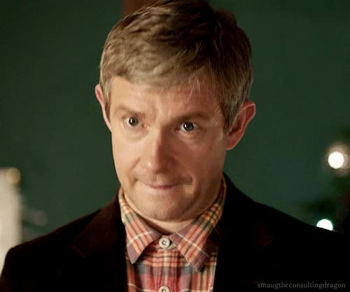 Watch and share Martin Freeman GIFs and Head Nod GIFs on Gfycat