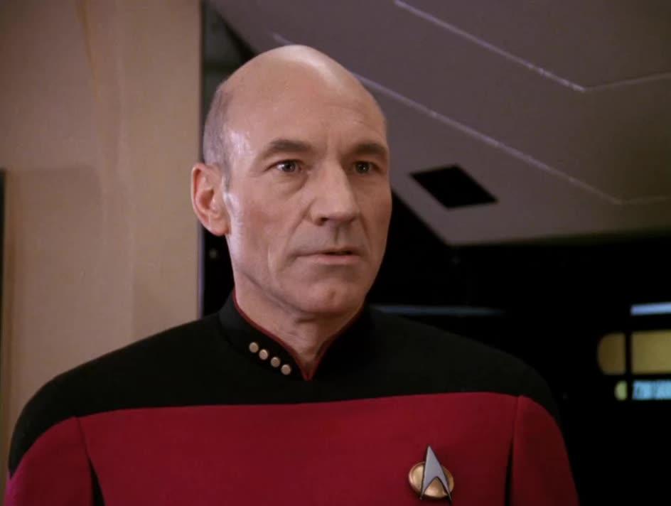 Star Trek, The Next Generation, celebs, patrick stewart, Uh-oh GIFs