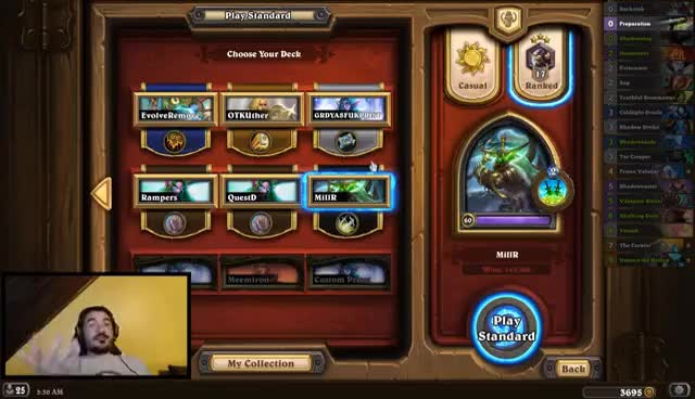 Watch and share [Hearthstone] Mill Rogue, Memes Are Costly GIFs on Gfycat