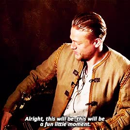 Watch Charlie Hunnam GIF on Gfycat. Discover more related GIFs on Gfycat