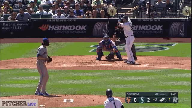 Watch and share Jacob DeGrom CH 7-29-17 GIFs on Gfycat