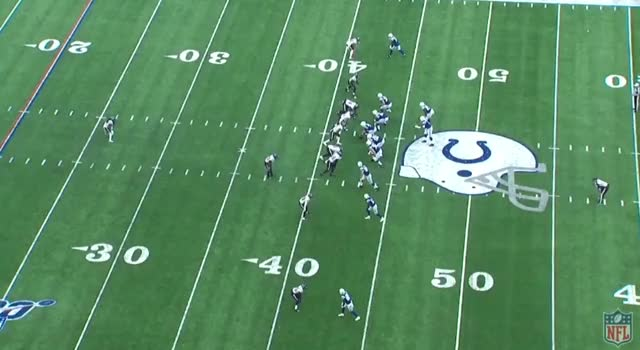 Watch and share HOU IND (2019): 3rd & 4--Nice Lonnie Press Coverage Rep GIFs by Matt Weston on Gfycat