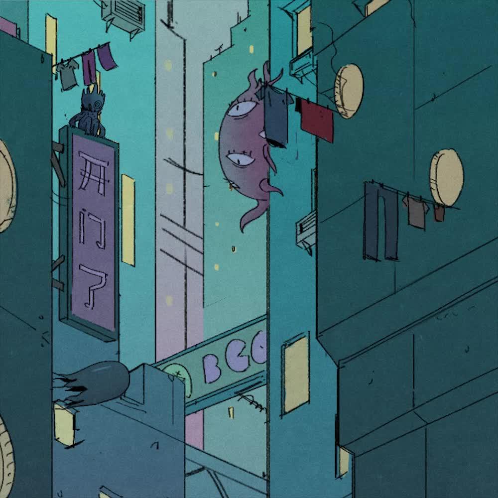 cyberpunk, hungry ghost festival, webtoon, Hungry Ghost Festival GIFs