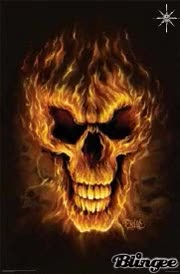 Watch and share Fire Head Skull GIFs on Gfycat