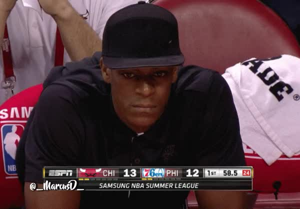 Watch and share Rajon Rondo Smirk Reaction GIFs by MarcusD on Gfycat