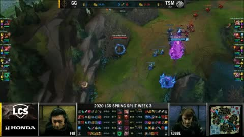 GG vs TSM Highlights LCS Spring 2020 W3D2 Golden Guardians vs Team Solo Mid LCS Highlights 2020 by O