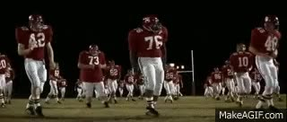 Watch and share Remember The Titans - Team Dance GIFs on Gfycat
