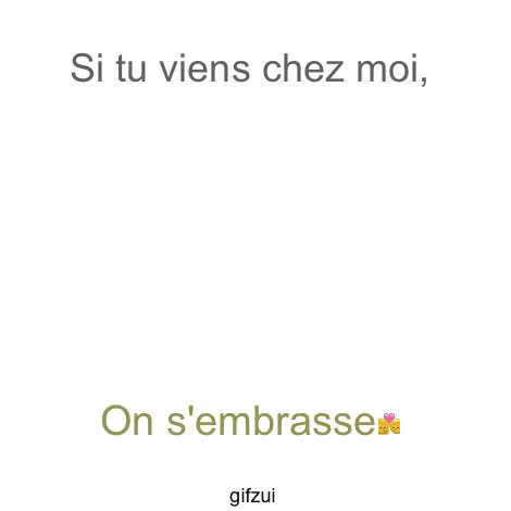 Watch and share Si Tu Viens Chez Moi, GIFs on Gfycat